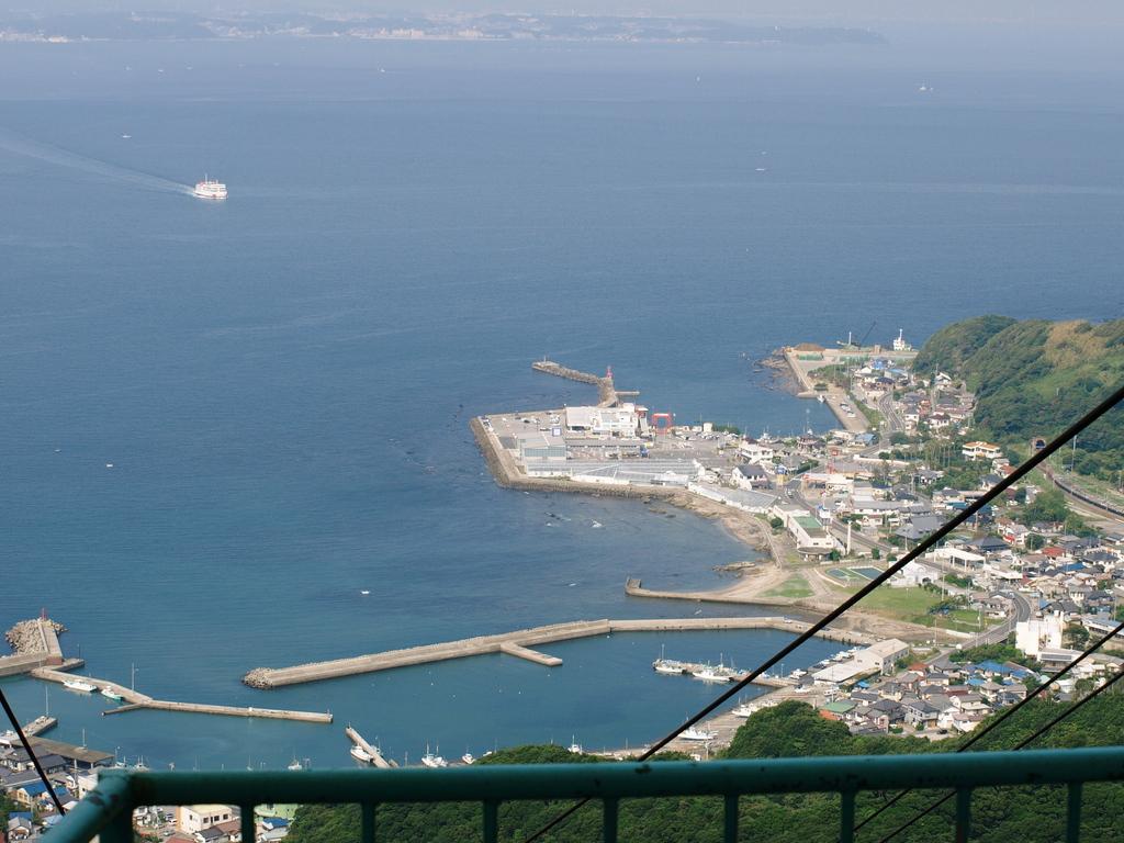 東京湾を一望