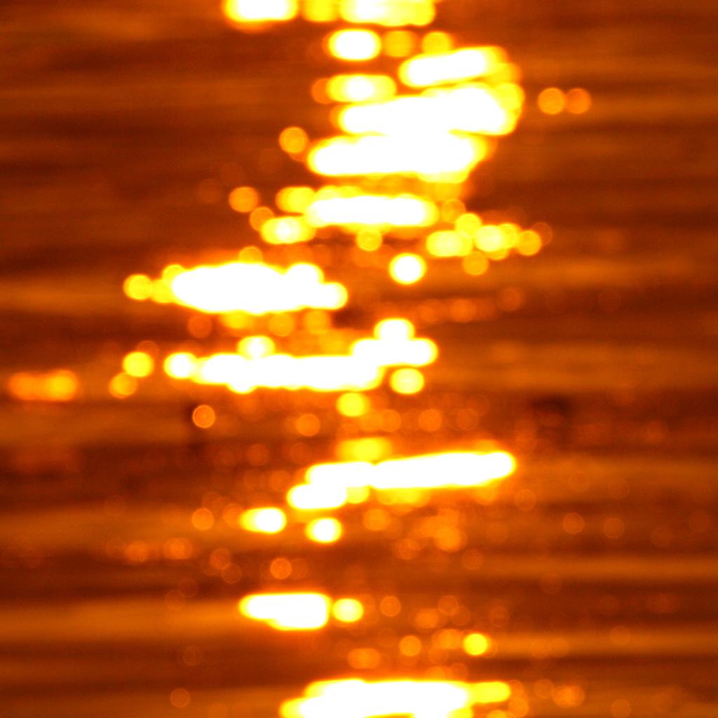 揺れる光り