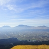 朝の阿蘇五岳