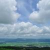 大地と草原と空と雲(大観峰を望む)