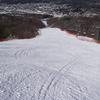 スキー場にて