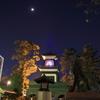 尾山神社の不思議な夜景