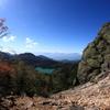 志賀高原・赤石山からの眺望