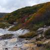 地獄谷の秋模様