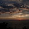ウトロの夕日