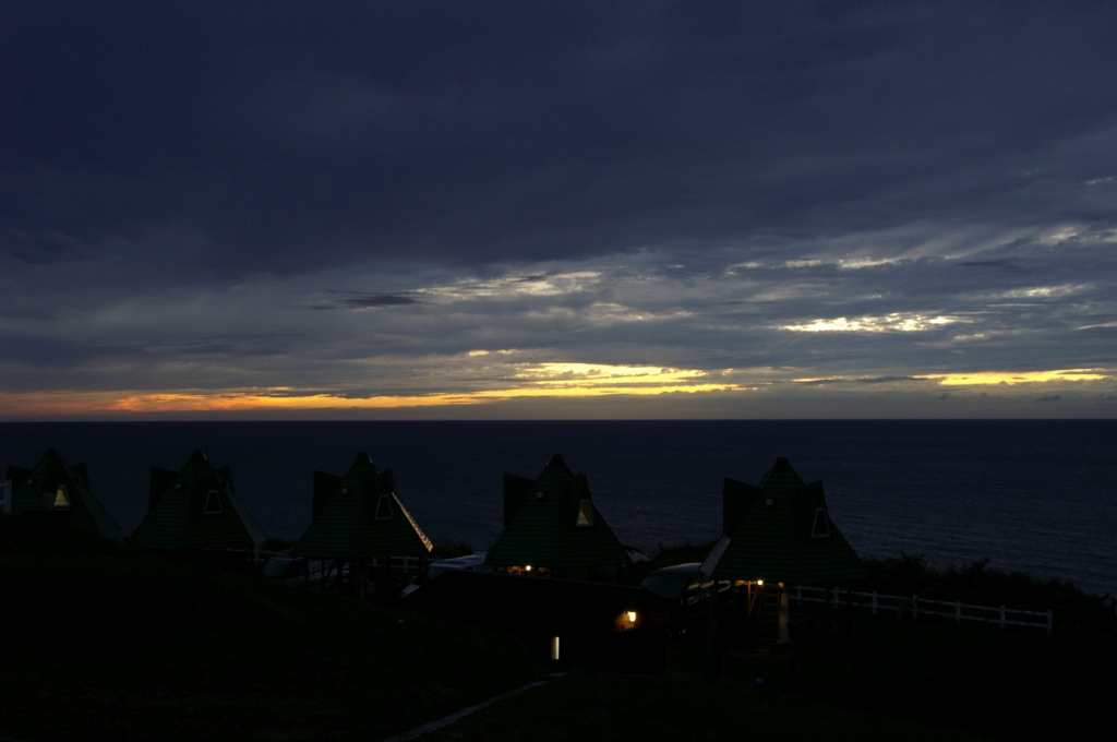 初山別の夕暮れ2