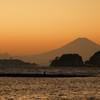 鎌倉和賀江島夕景