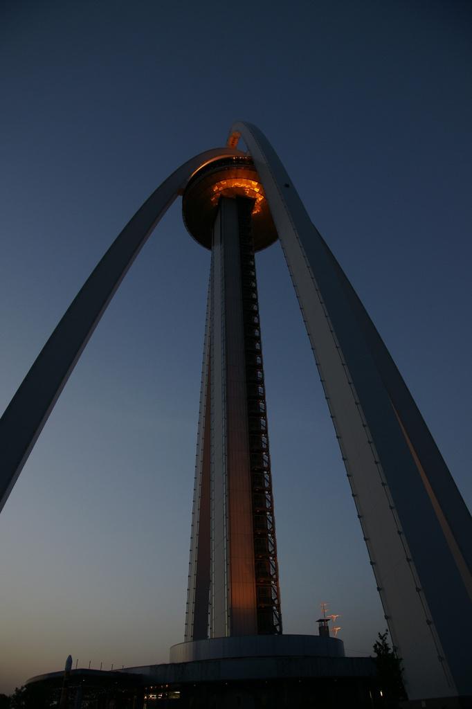 138タワー 夕景