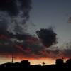 ある日の染まる雲