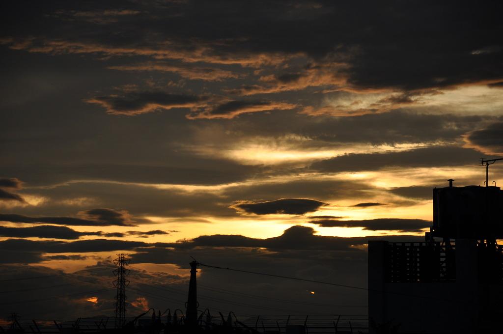 夕焼けと雲③