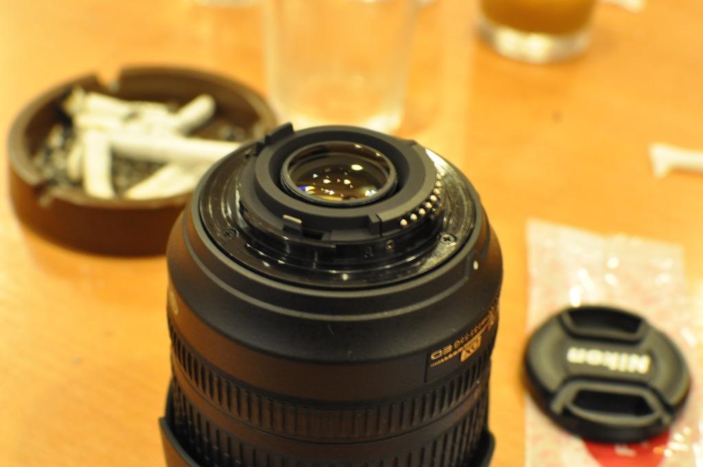 AF-S DX NIKKOR 35mm F1.8Gで室内撮り