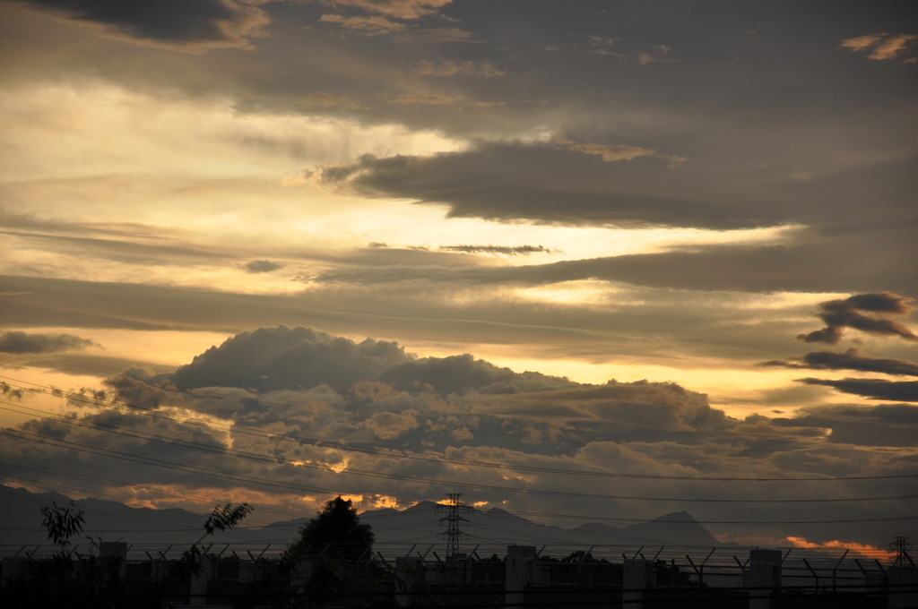 夕焼けと雲②