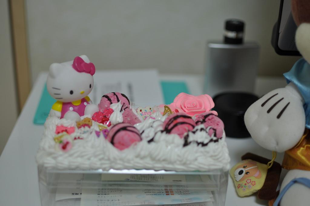 キティーのケーキ