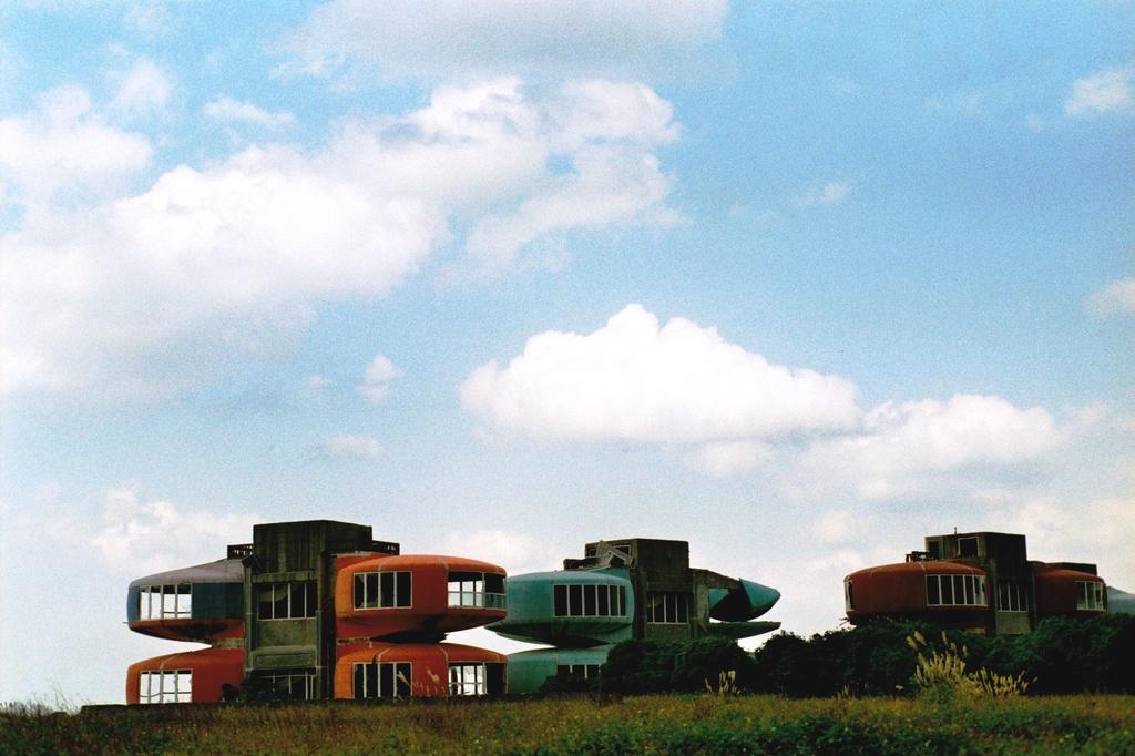 UFO屋敷と空