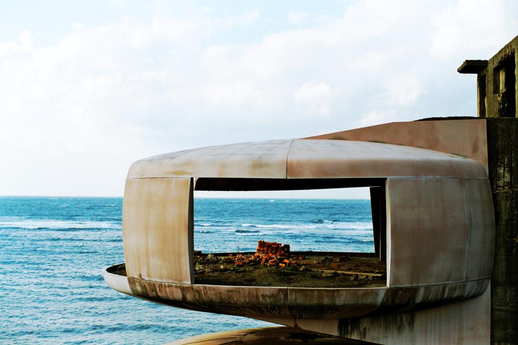 UFO屋敷と海