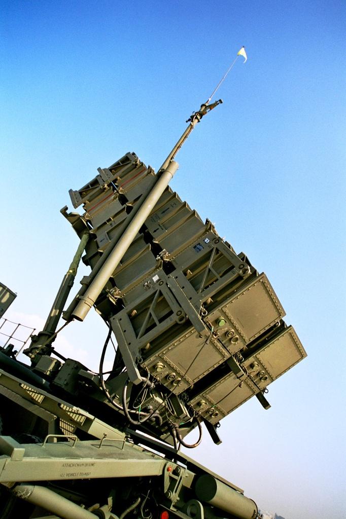 パトリオットミサイル!?