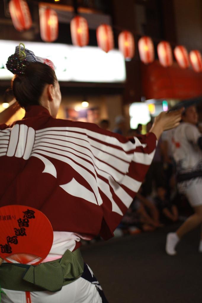 神楽坂まつり 阿波踊り大会