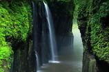 高千穂峡 真名井の滝(日本の滝100選)
