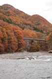 吹割の滝の紅葉
