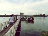 ターチン川渡船