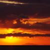 播磨灘の夕日2