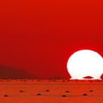RICOH IMAGING PENTAX K-3で撮影した(秋の播磨灘に沈む夕日7)の写真(画像)
