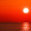 冬の播磨灘の夕景5