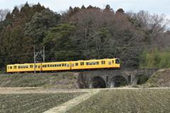 三岐鉄道北勢線(めがね橋)