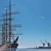 練習帆船「日本丸」(着岸)