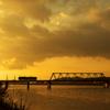 国包(くにかね)の鉄橋1