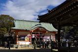 2018初詣(魚住住吉神社拝殿)