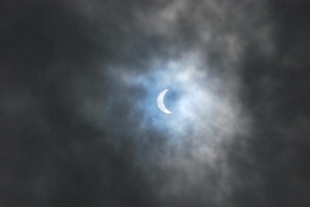 日食 in 名古屋