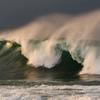 日本海波頭