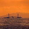夕暮れ富山湾2