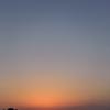 今日の日没