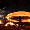 火振り神事ー炎のフラフープ