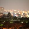 熊本城の夜