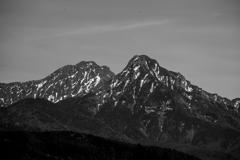八ヶ岳モノクロ