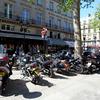 パリの街で