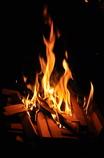 焚火は癒し