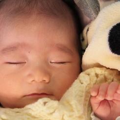 CANON Canon EOS 5D Mark IIで撮影した人物(天使の寝顔)の写真(画像)