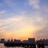 CANON Canon EOS 50Dで撮影した風景(お台場夕焼け2)の写真(画像)