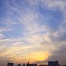CANON Canon EOS 50Dで撮影した風景(お台場夕焼け1)の写真(画像)