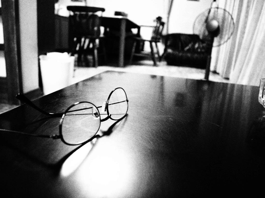 父の老眼鏡