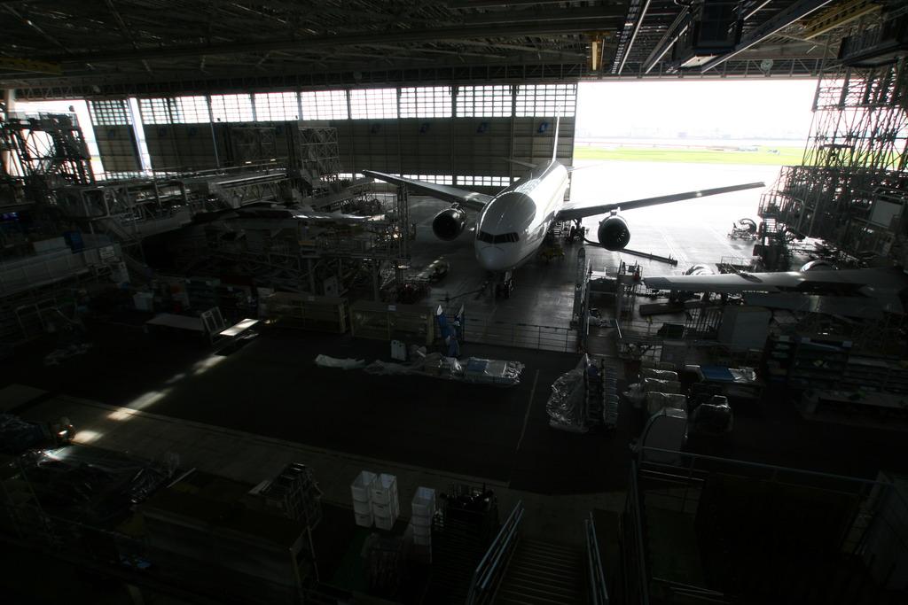 ANA機体メンテナンスセンター