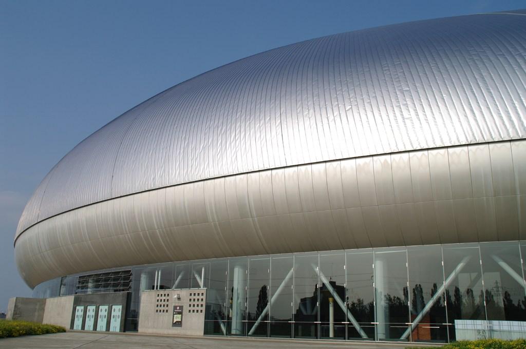 札幌ドームの横顔