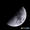 月齢7.1 上弦・宵月