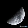 月齢7.6 上弦の月
