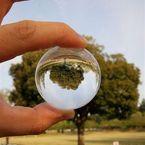 CANON Canon EOS 40Dで撮影した(水晶球の中の世界)の写真(画像)