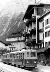登山鉄道に乗って・・・